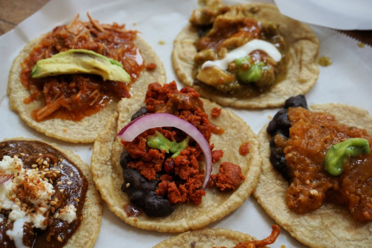 Tacos from Guisados, Downtown Los Angeles