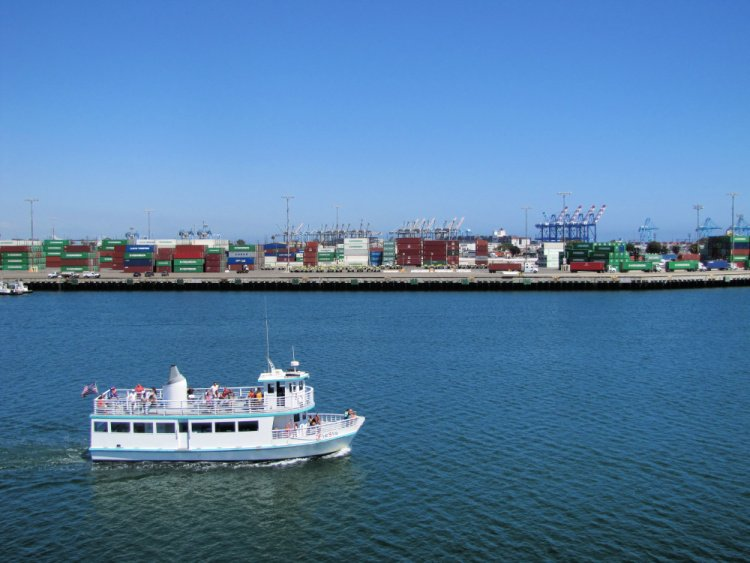 Harbor Cruise, San Pedro, California