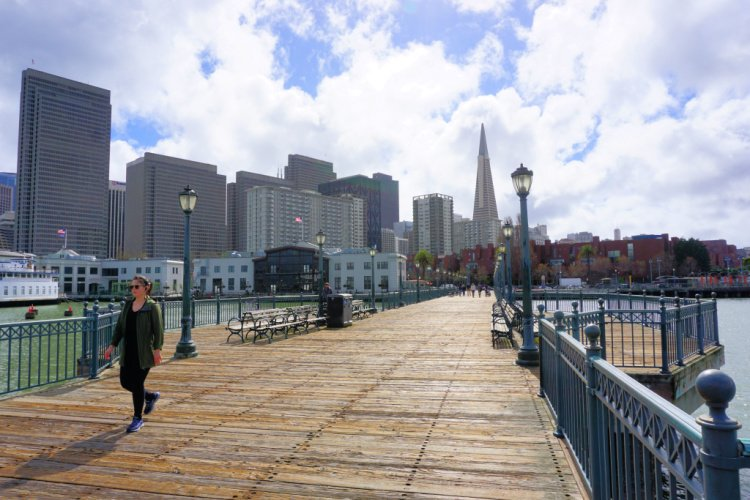 View from Pier 7, San Francisco, California
