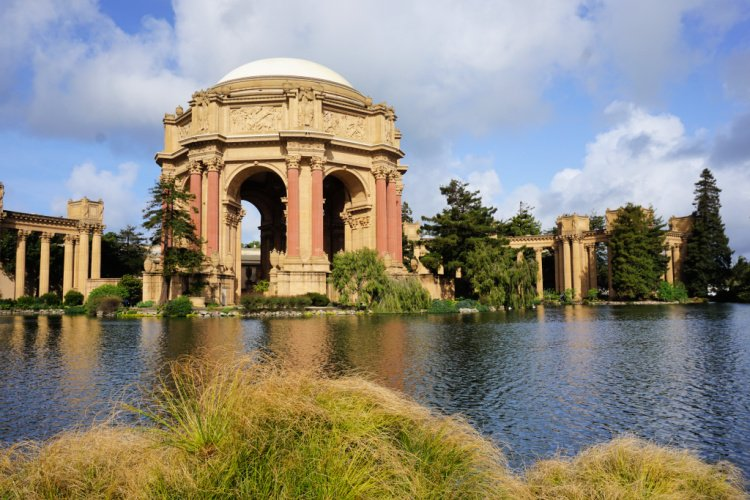 Palace of Fine Arts, San Francisco Itinerary, California