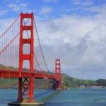 Golden Gate Bridge seen from Postcard Overlook, San Francisco Itinerary, California