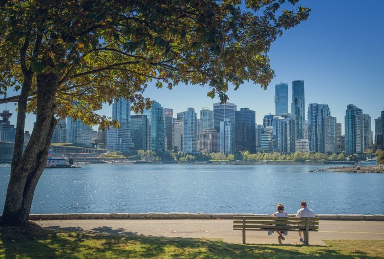 View from Stanley Park, Vancouver Itinerary, Canada