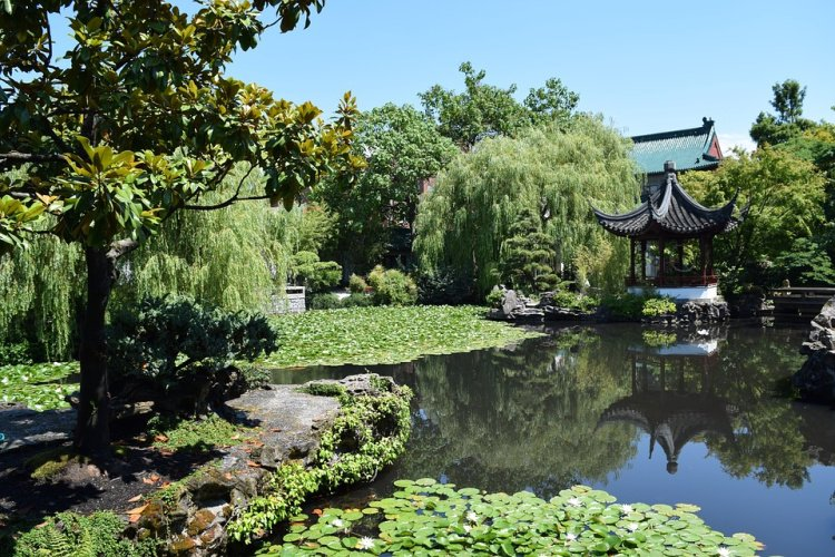 Dr. Sun Yat-Sen Classical Chinese Garden in Vancouver's Chinatown, Canada