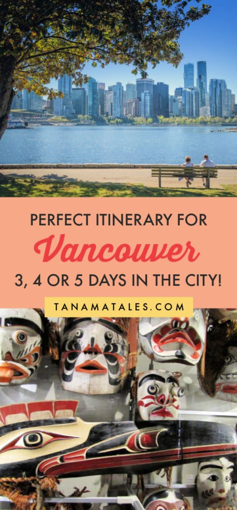 Things to do in #Vancouver, #Canada – Travel tips and vacation ideas – Vancouver is one of the most beautiful cities in the world! My itinerary for 3, 4 or 5 days will take you to the best spots in the city. Get ready to visit Canada Place, Gastown, Stanley Park, Chinatown, Granville Island, Yaletown, Grouse Mountain the Museum of Anthopology, the VanDusen Garden and more! In additions, I have recommendation on day trips and restaurants (tons of sushi places). #BritishColumbia