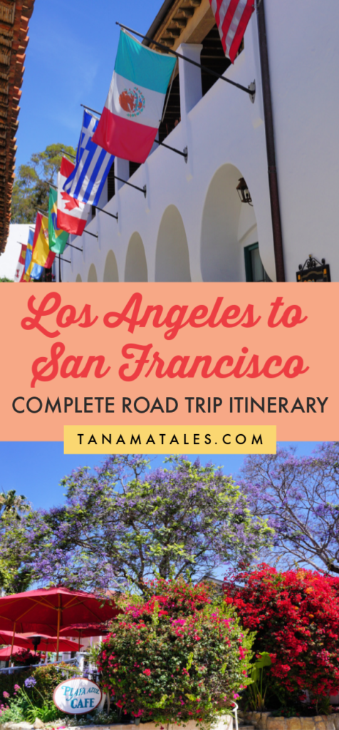 Thinking about a Los Angeles to San Francisco road trip? The distance between the two cities is not that long and there is lot to do in between.  After having driven this route more than 8 times, I have decided to give you my best advice on how to plan your own road trip. We will explore towns like Santa Barbara, Pismo Beach, San Luis Obispo, Paso Robles, Salinas and San Jose. Get into the car and let's go! #LA #SanFrancisco #California #roadtrip