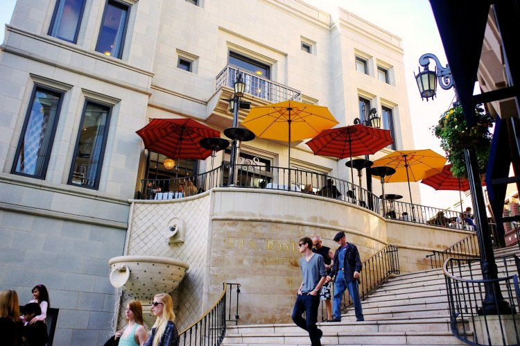Rodeo Drive Steps, Beverly Hills, California