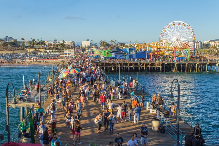 Santa Monica Pier and Pacific Park, California, Los Angeles Itinerary