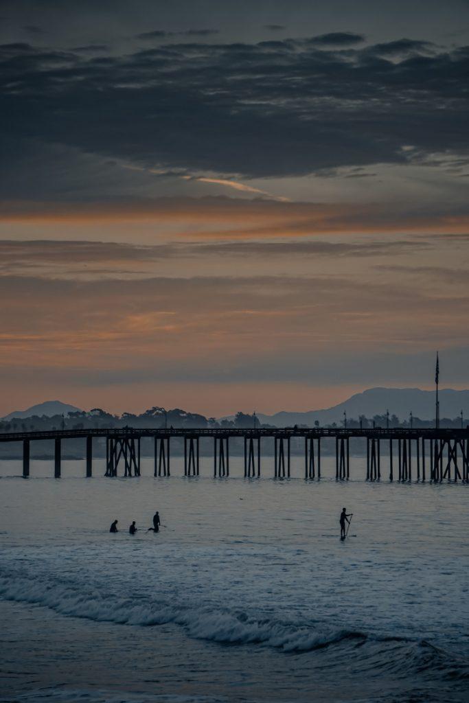 Los Angeles to Santa Barbara Drive, Ventura Pier