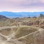 Hiking around Zabriski Point, Las Vegas to Death Valley Day Trip