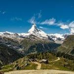 Matterhorn seen in the distance