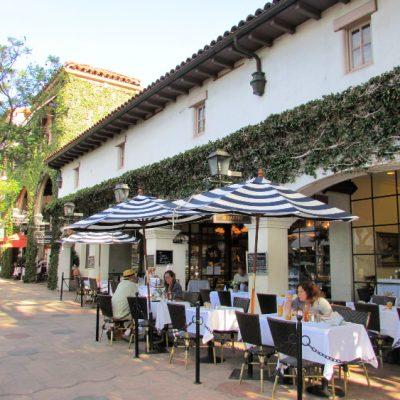 Outdoor eating in Downtown Santa BArbara, Santa Barbara Day Trip: Things to do, see and eat