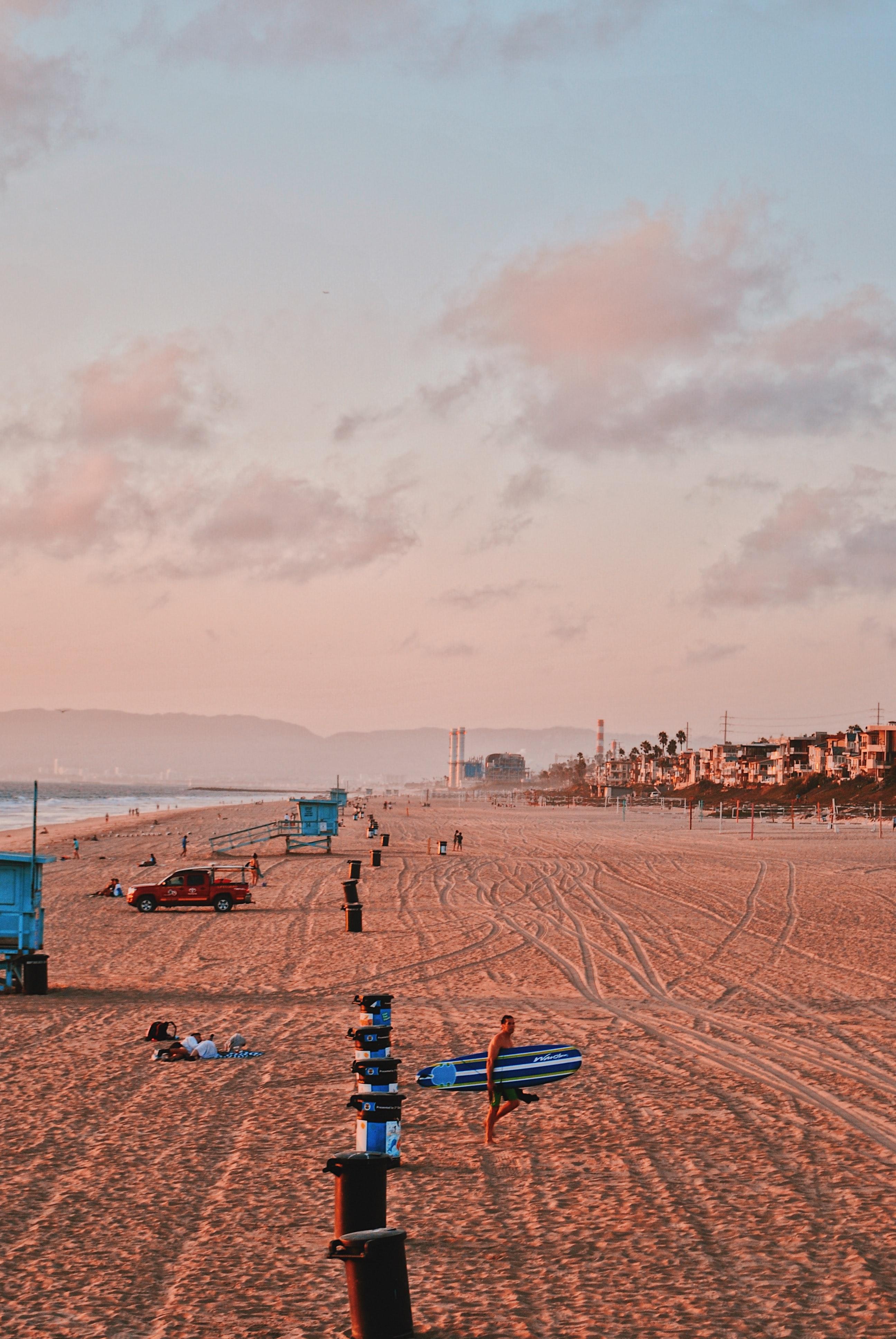 Manhattan Beach Sunset, Best Beaches Near LAX Airport