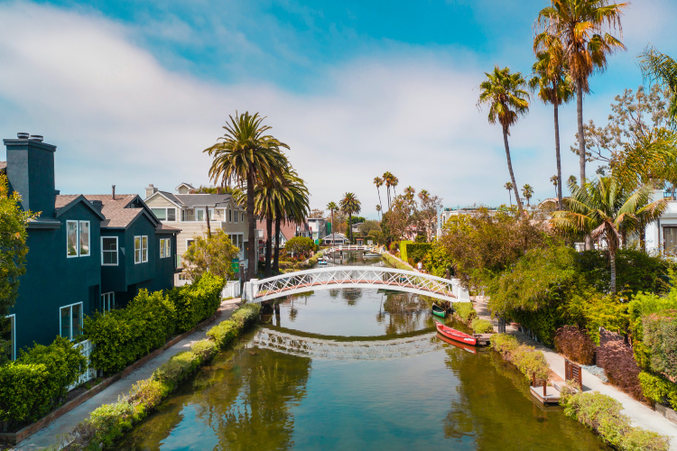 Venice Beach Canals, 2 days in Los Angeles
