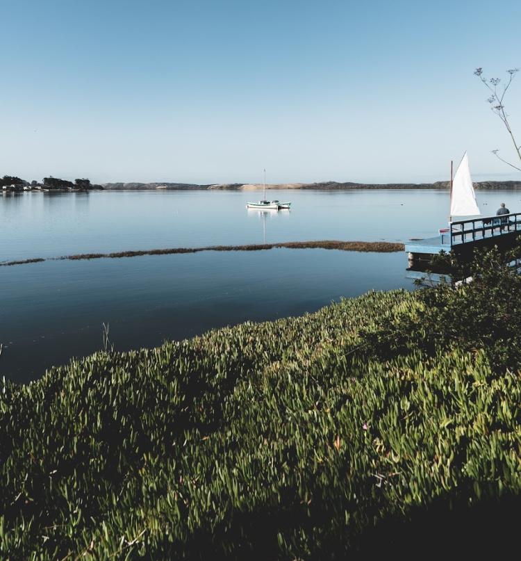 Calm waters in Morro Bay