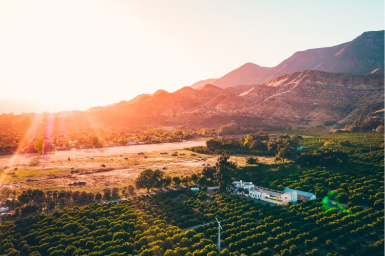 Ojai Sunset, Things to do in Ventura County, California