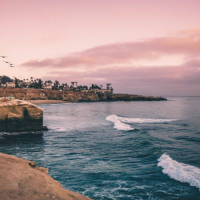 Sunset Cliffs at Sunset, Things to do in San Diego during the winter