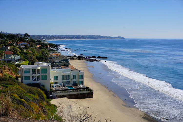 Broad Beach in Malibu