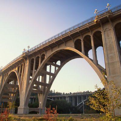 Colorado Street Bridge, Pasadena Hikes and Trails