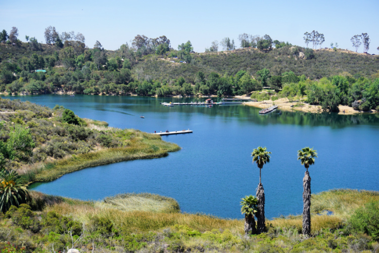 Lake Dixon in Escondido, Best Lakes for Camping in California