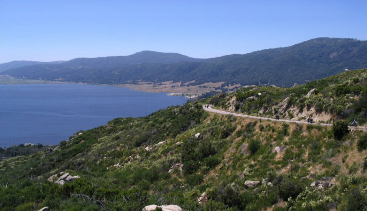 View of Lake Henshaw, Best Lakes for Camping in California